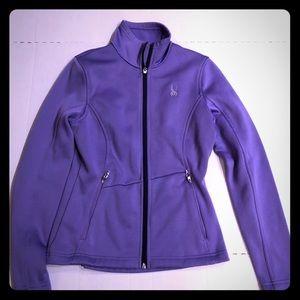 SPYDER core sweater zip up jacket
